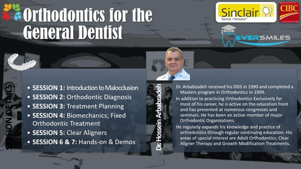 CE - orthodontics for dentist 2021 banner